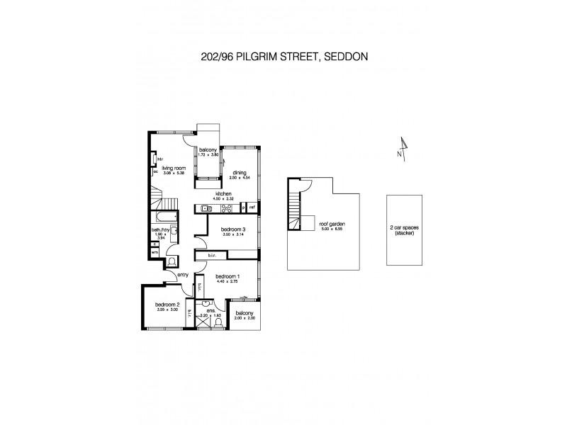 202/96 Pilgrim Street, Seddon VIC 3011 Floorplan