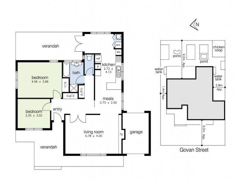 13 Govan Street, Footscray VIC 3011 Floorplan