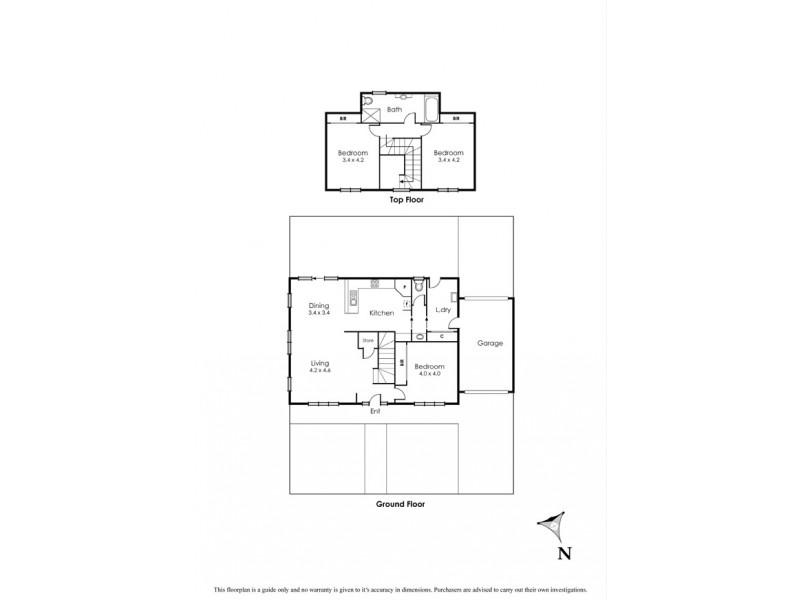 2/32 Civic Parade, Altona VIC 3018 Floorplan