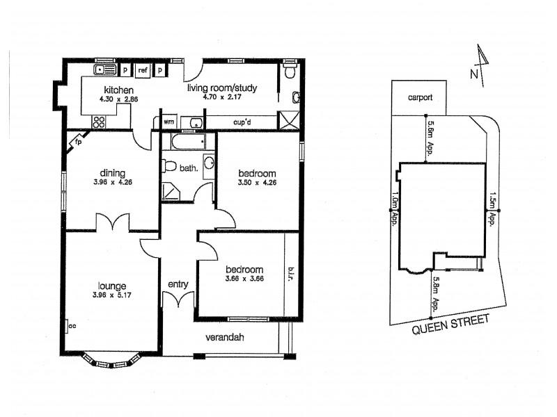 1/67 Queen Street, Altona VIC 3018 Floorplan