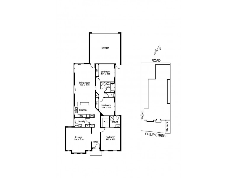 23 Philip Street, Altona Meadows VIC 3028 Floorplan