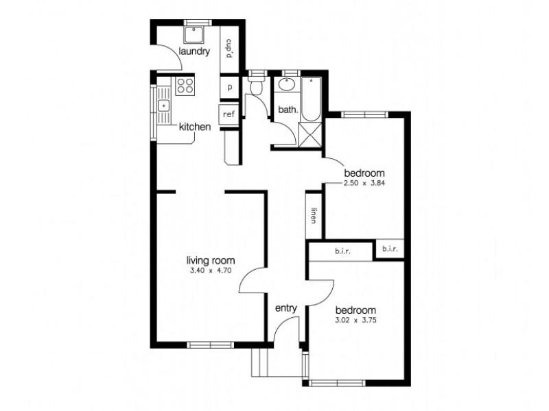 5/1 Bell Avenue, Altona VIC 3018 Floorplan