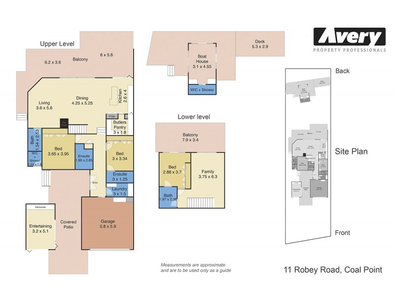 11 Robey Crescent, Coal Point NSW 2283 Floorplan