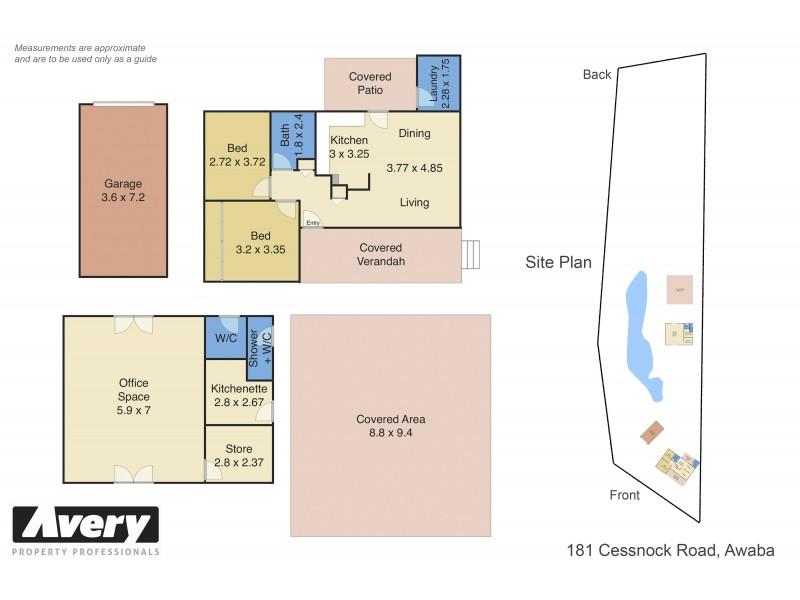181 Cessnock Road, Awaba NSW 2283 Floorplan