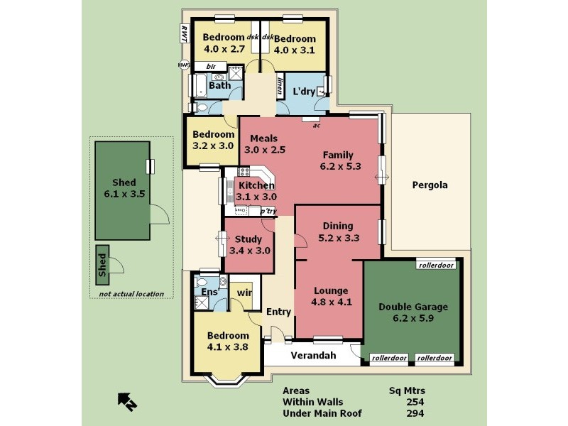 7 Elm Drive, Oakbank SA 5243 Floorplan