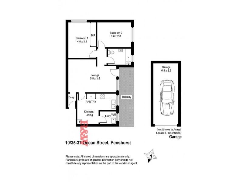 10/35-37 Ocean Street, Penshurst NSW 2222 Floorplan