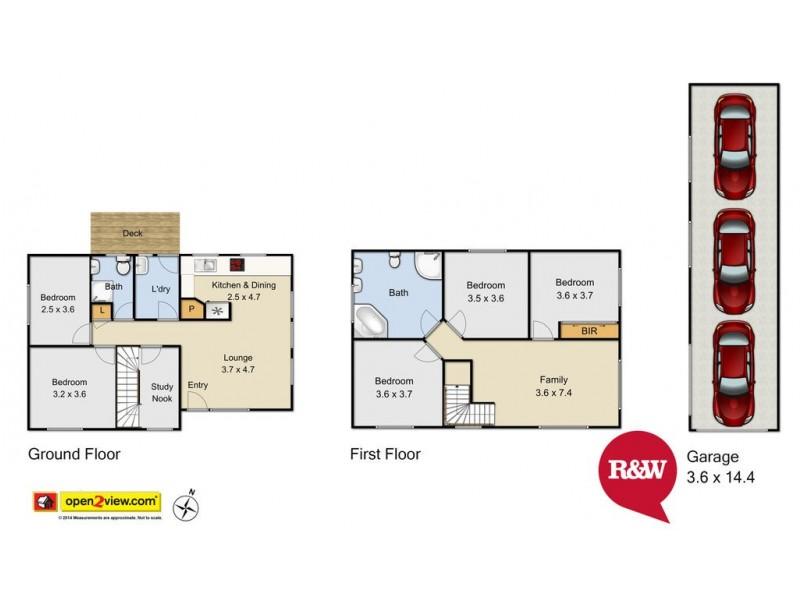 246 Captain Cook Drive, Willmot NSW 2770 Floorplan