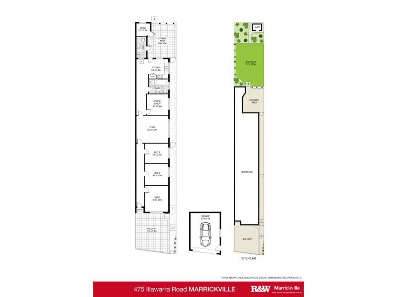 475 Illawarra Road, Marrickville NSW 2204 Floorplan