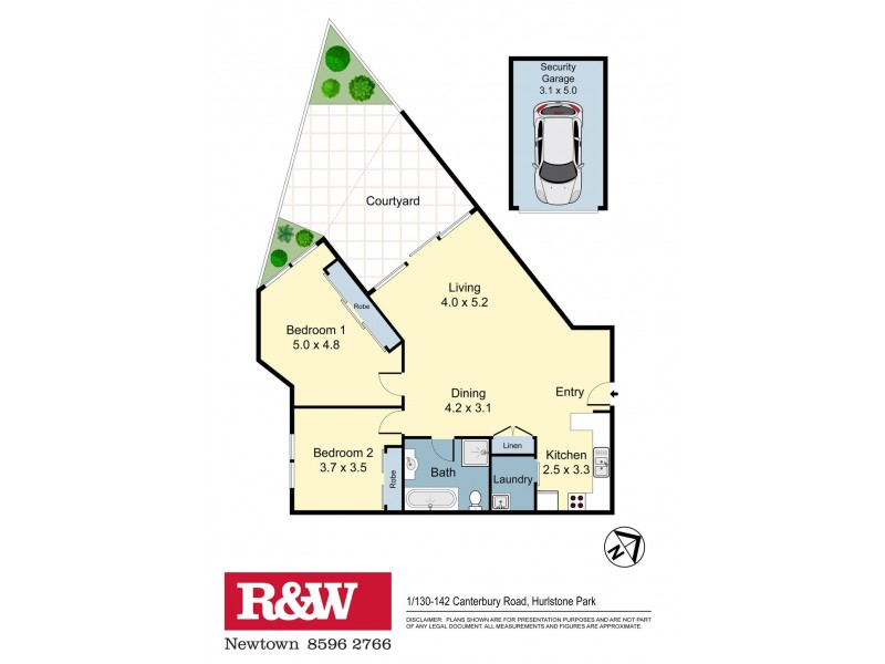 1/130 Canterbury Road, Hurlstone Park NSW 2193 Floorplan