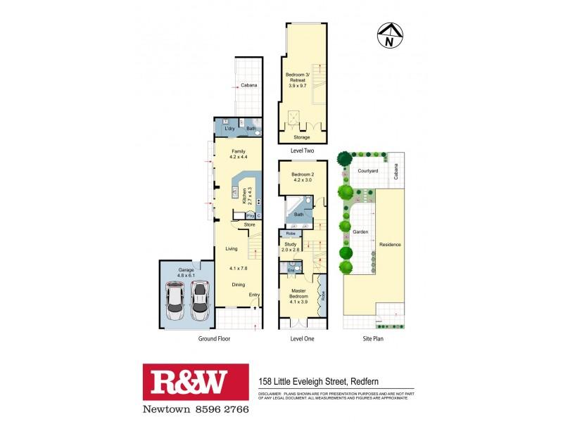 158 Little Eveleigh Street, Redfern NSW 2016 Floorplan