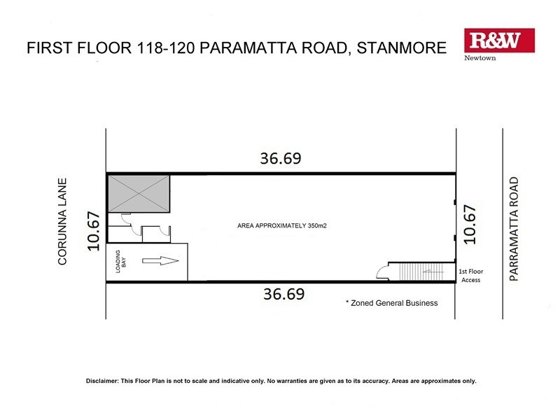 1/118-120 Parramatta Road, Stanmore NSW 2048 Floorplan