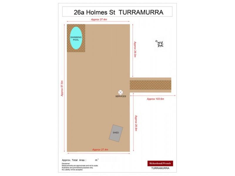 26a Holmes Street, Turramurra NSW 2074 Floorplan