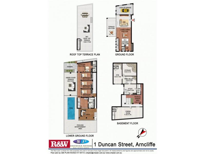1 Duncan Street, Arncliffe NSW 2205 Floorplan
