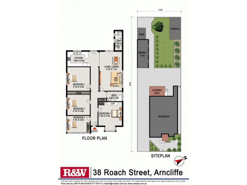 38 Roach Street, Arncliffe NSW 2205 Floorplan