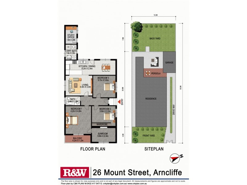 26 Mount Street, Arncliffe NSW 2205 Floorplan
