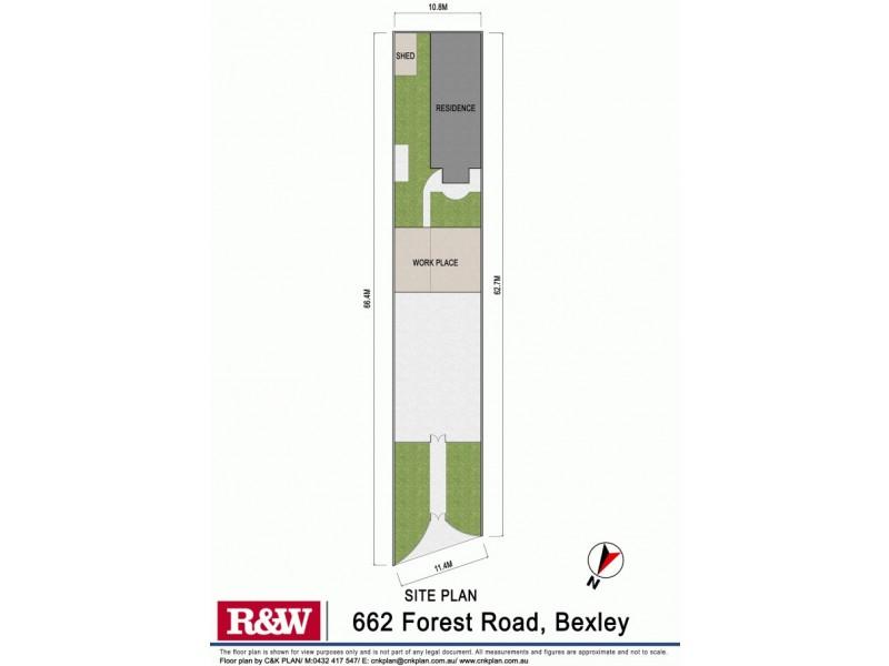 662 Forest Road, Bexley NSW 2207 Floorplan