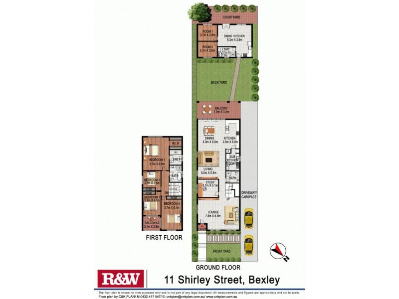 11 Shirley Street, Bexley NSW 2207 Floorplan