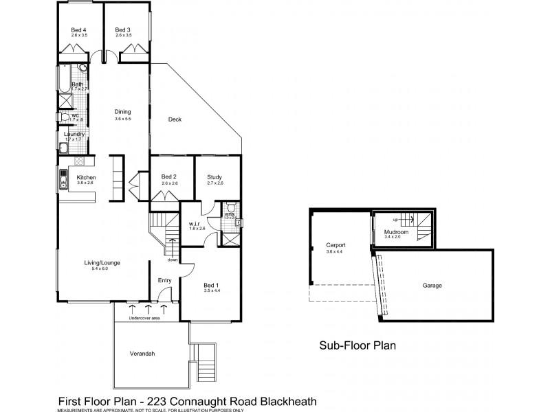 223 Connaught Road, Blackheath NSW 2785 Floorplan
