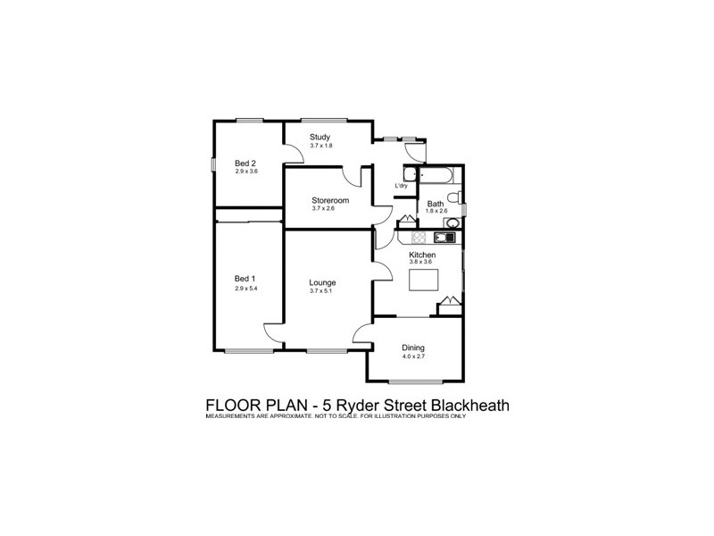 5 Ryder Street, Blackheath NSW 2785 Floorplan
