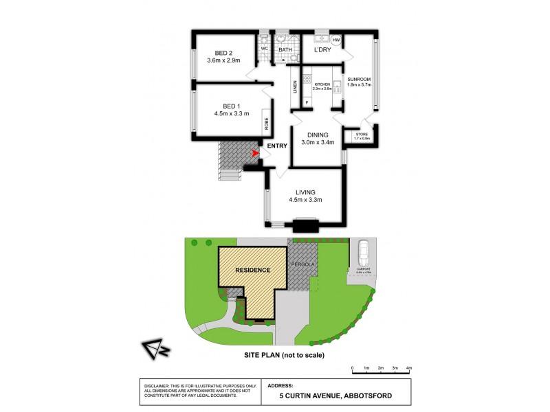 5 Curtin Avenue, Abbotsford NSW 2046 Floorplan