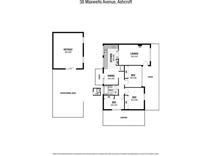 Ashcroft NSW 2168 Floorplan