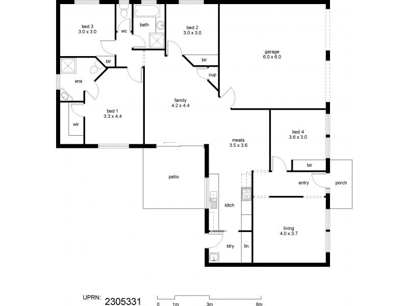 Upper Kedron QLD 4055 Floorplan
