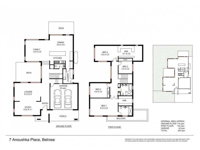 7 Anoushka Place, Belrose NSW 2085 Floorplan