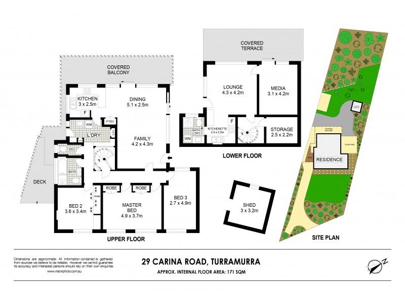 29 Carina Road, Turramurra NSW 2074 Floorplan