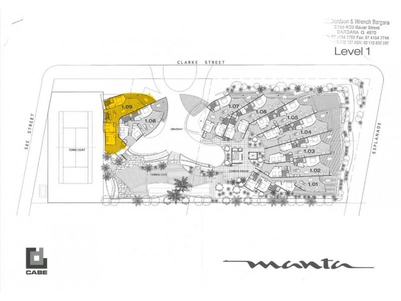 109/95 Esplanade, Bargara QLD 4670 Floorplan