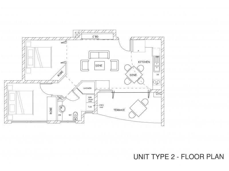 6/52 Johnson Street, Bargara QLD 4670 Floorplan