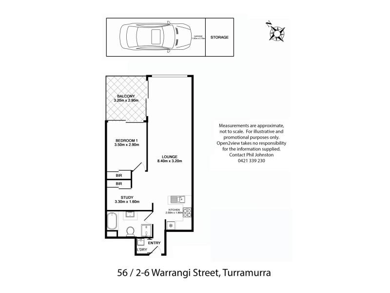 56/2 Warrangi Street, Turramurra NSW 2074 Floorplan