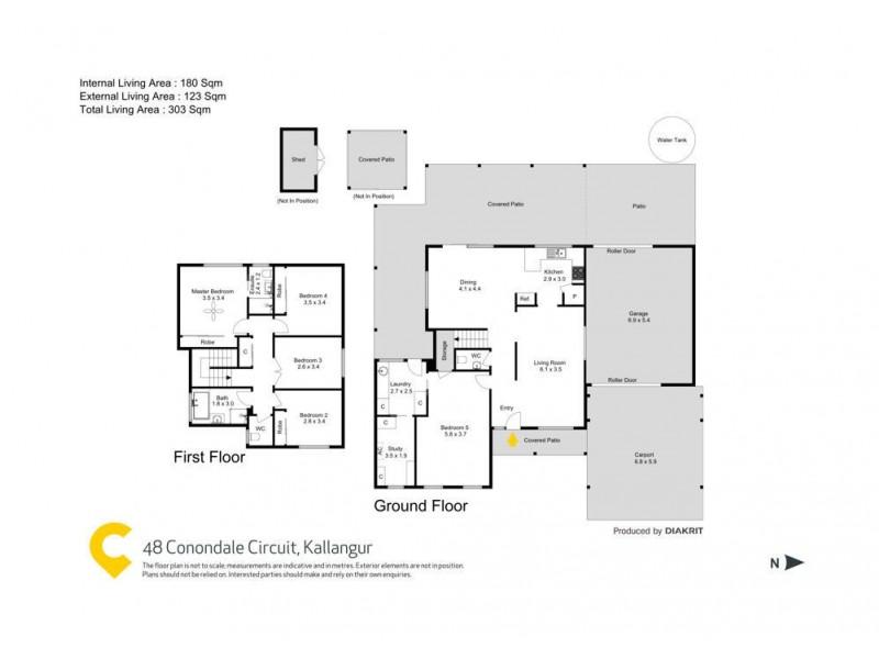 Kallangur QLD 4503 Floorplan