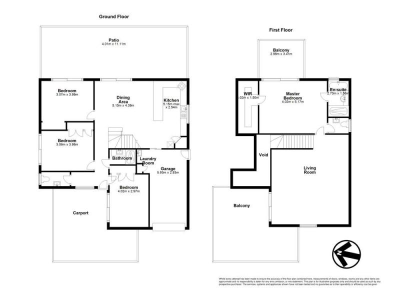 11 Dame Pattie Court, Newport QLD 4020 Floorplan
