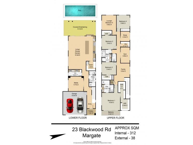 23 Blackwood Road, Margate QLD 4019 Floorplan