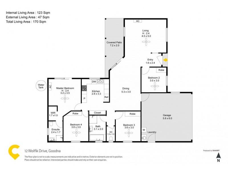 12 Wolfik Dr, Goodna QLD 4300 Floorplan