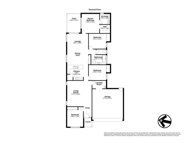 12 Carron Court, Brassall QLD 4305 Floorplan