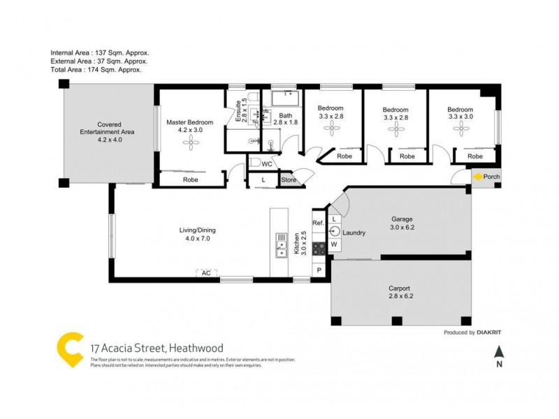 17 Acacia Street, Heathwood QLD 4110 Floorplan