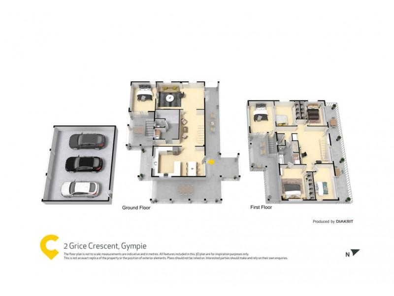 2 Grice Crescent, Gympie QLD 4570 Floorplan
