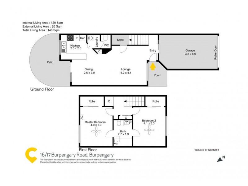16/17-19 Burpengary Road, Burpengary QLD 4505 Floorplan