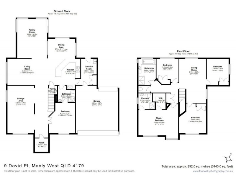 9 David Place, Manly West QLD 4179 Floorplan