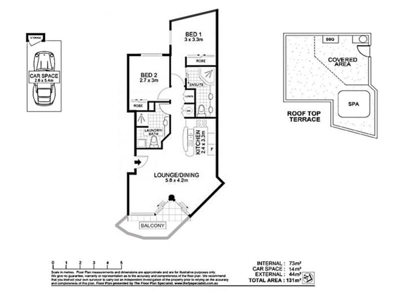 8/10 Edward Street, Alexandra Headland QLD 4572 Floorplan