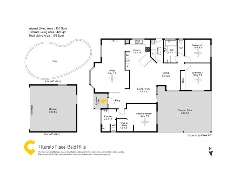 7 Kuralo Place, Bald Hills QLD 4036 Floorplan