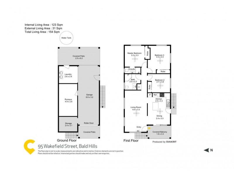 95 Wakefield Street, Bald Hills QLD 4036 Floorplan