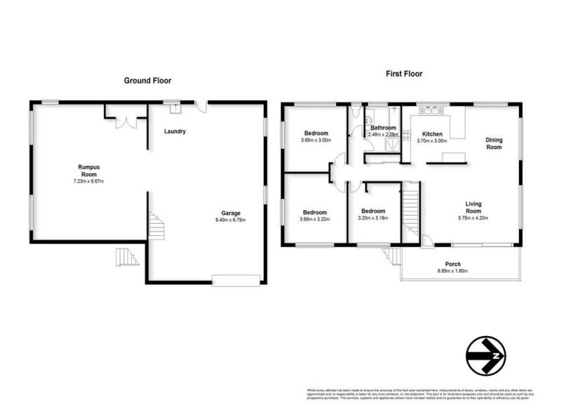 4 Parnoolar Crescent, Ferny Hills QLD 4055 Floorplan