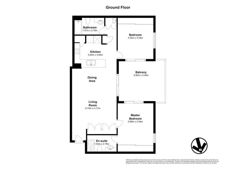 714/117 Flockton Street, Everton Park QLD 4053 Floorplan