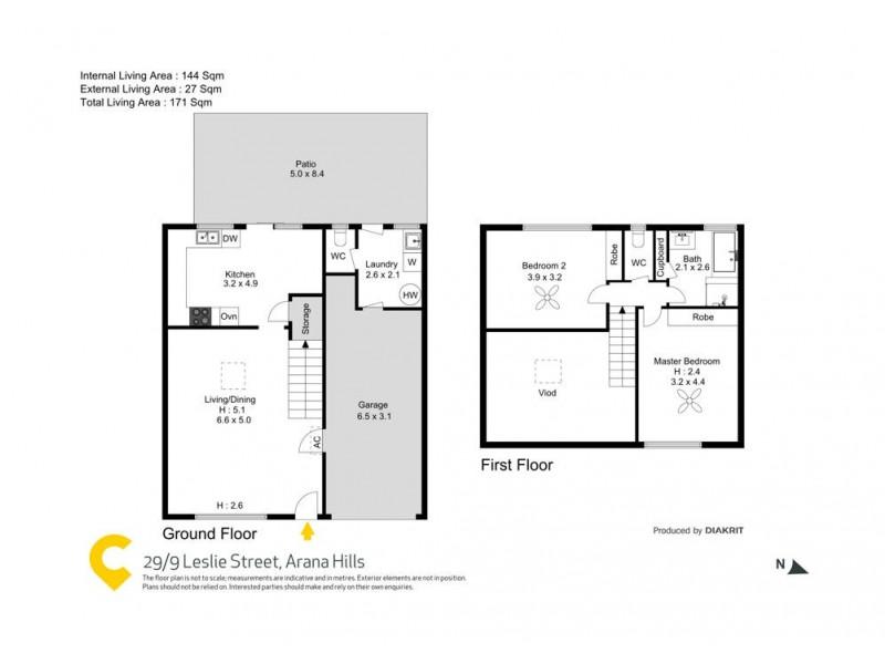 29/9 Leslie Street, Arana Hills QLD 4054 Floorplan