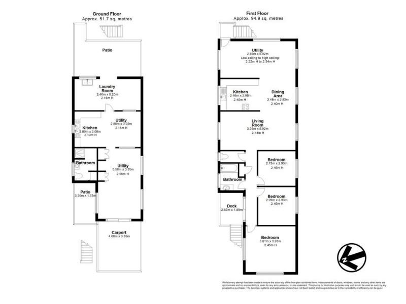 23 Miles Street, Bald Hills QLD 4036 Floorplan