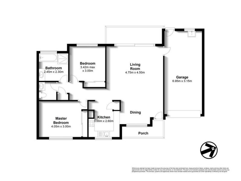 40/18 Spano Street, Zillmere QLD 4034 Floorplan