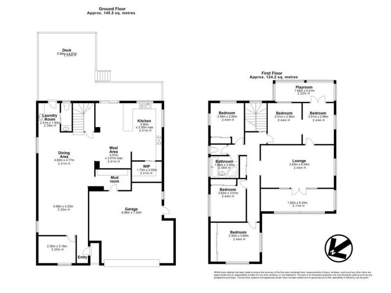 5 Rosanne Street, Aspley QLD 4034 Floorplan