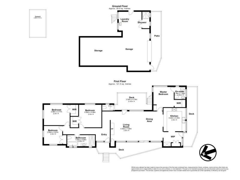 33 Ledbury Street, Aspley QLD 4034 Floorplan